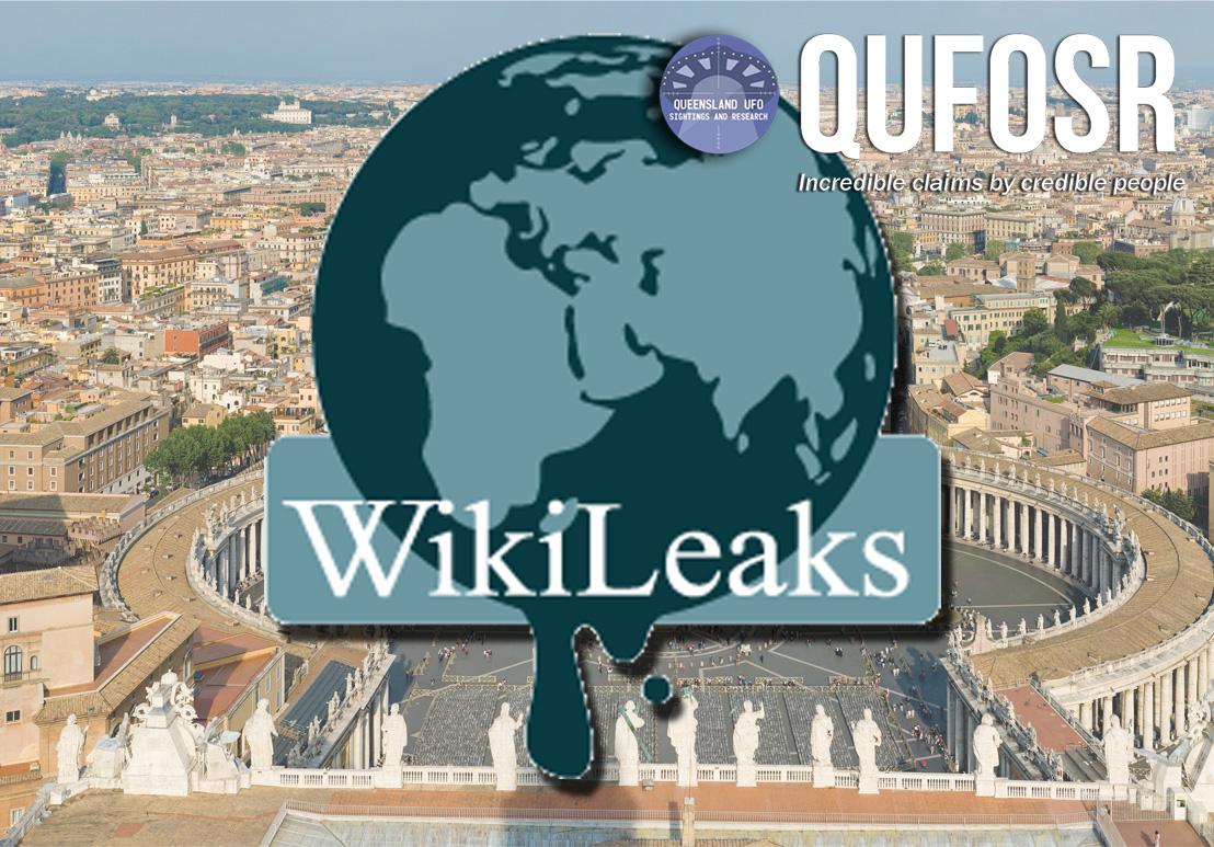 Podesta UFO emails leaked(WikiLeaks)