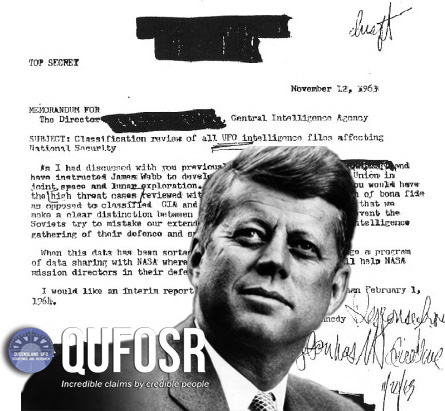 JFK requested CIA UFO files 10 days before his death